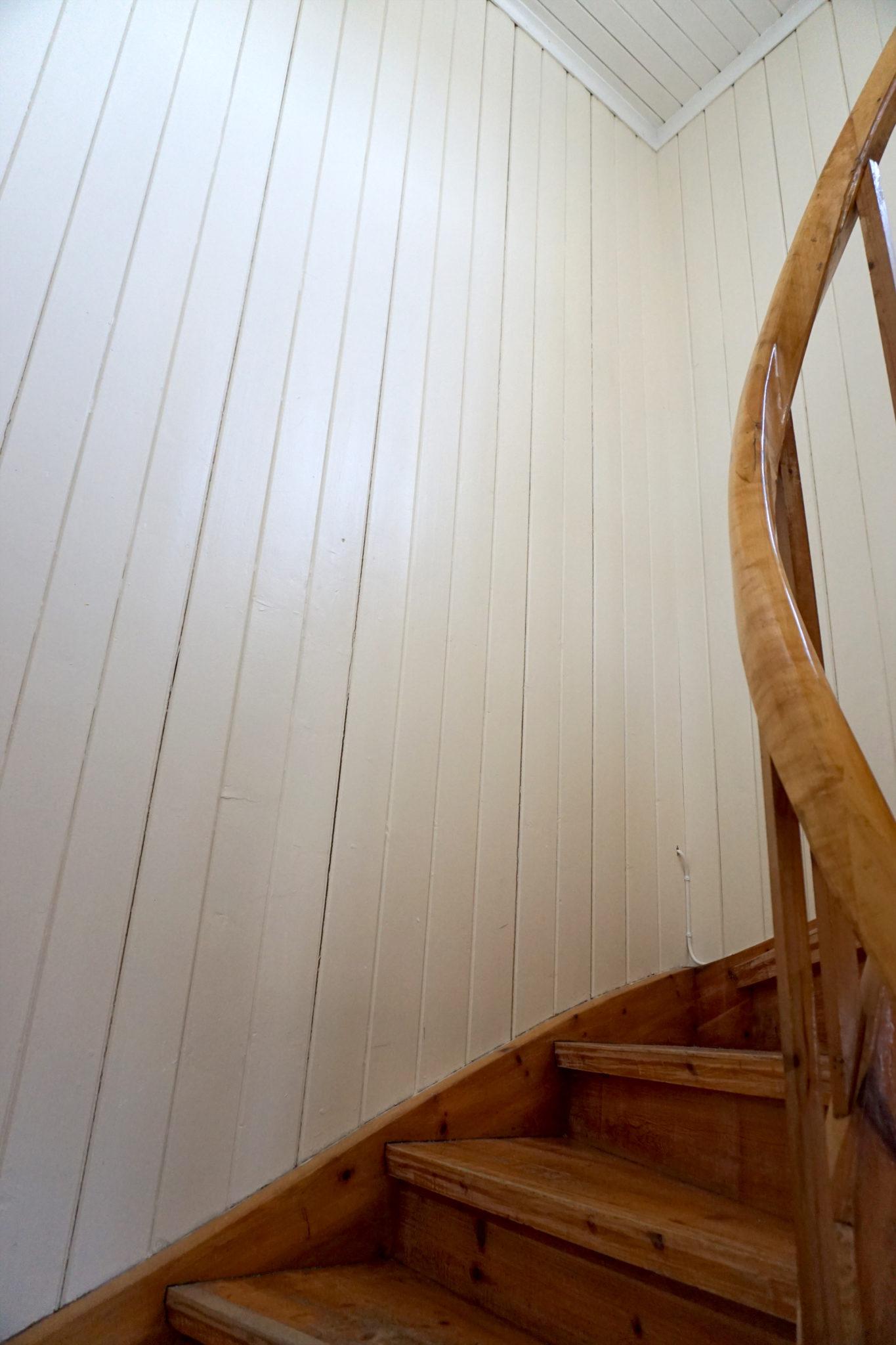 oppussing trapp før