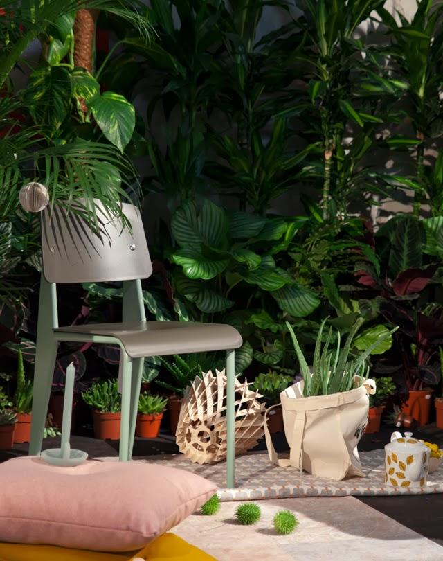 grønne planter på interiørmessen