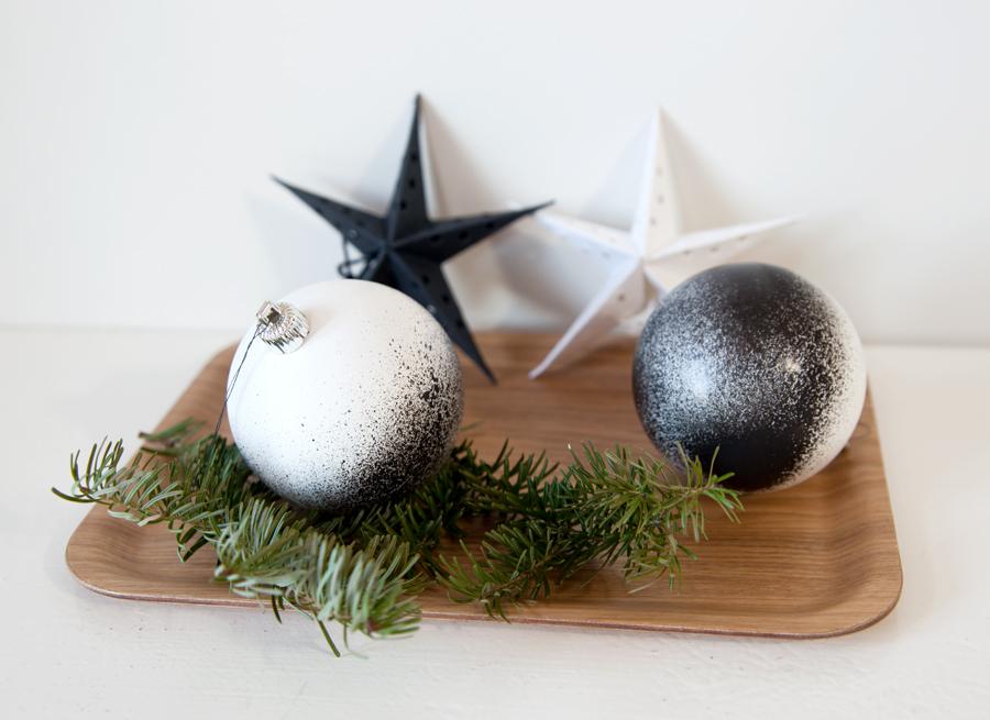 DIY gjenbruk av juletrekuler