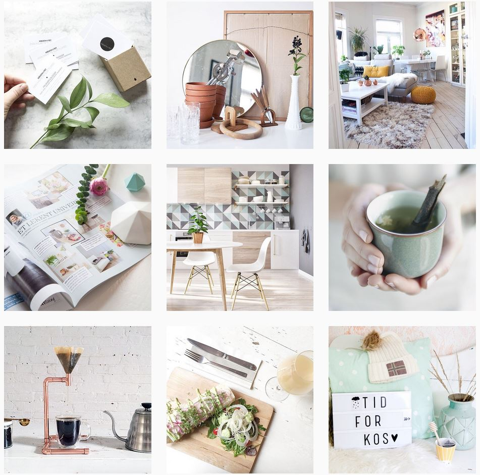 Instagrambilder fra oktober fra @annmeretes