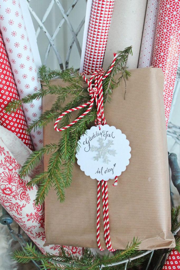 julete gaveinnpakking
