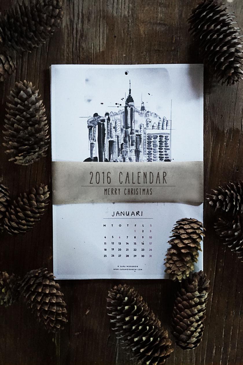 gratis kalender 2016