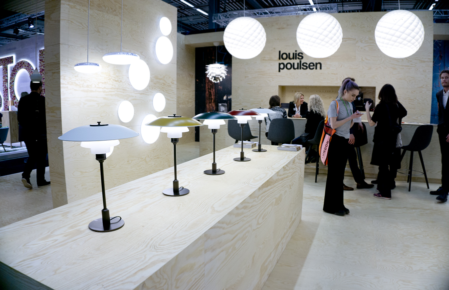stockholm furniture & light fair louis poulsen