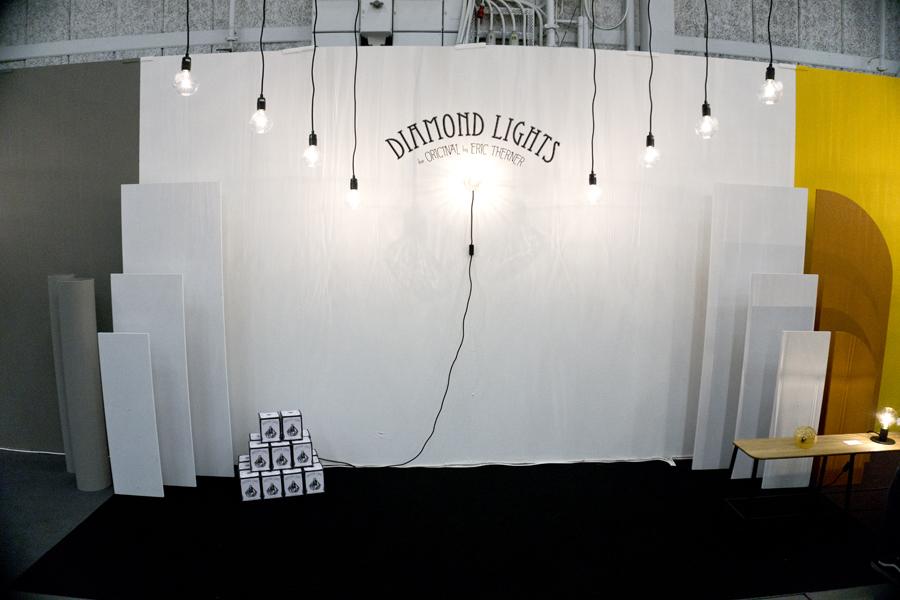 stockholm furniture & light fair diamond lights