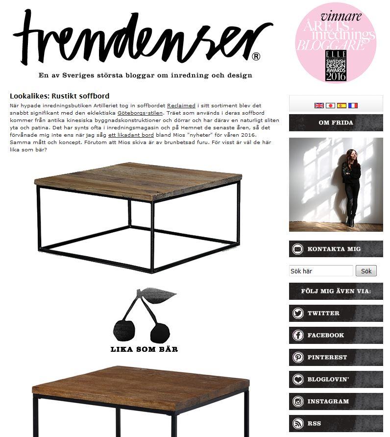 trendenser blogg