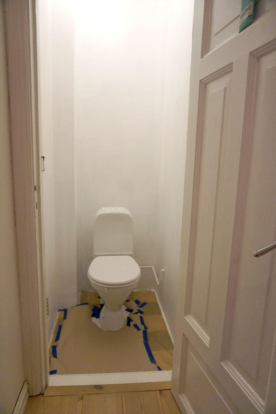 toalettrom oppussing grunning vegger