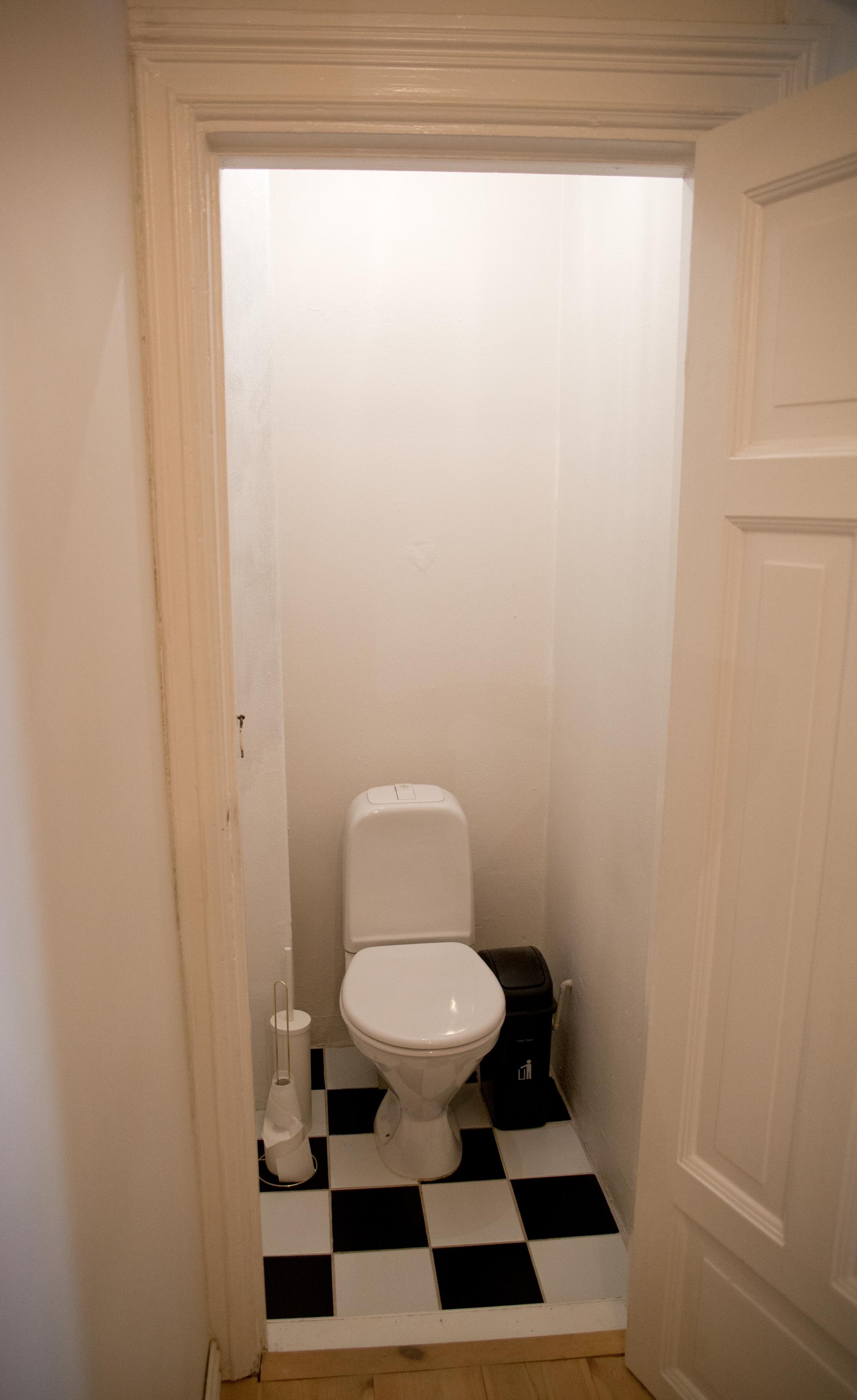 grunnet vegger toalett