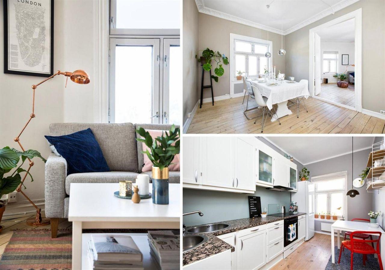 collage leilighet til salgs
