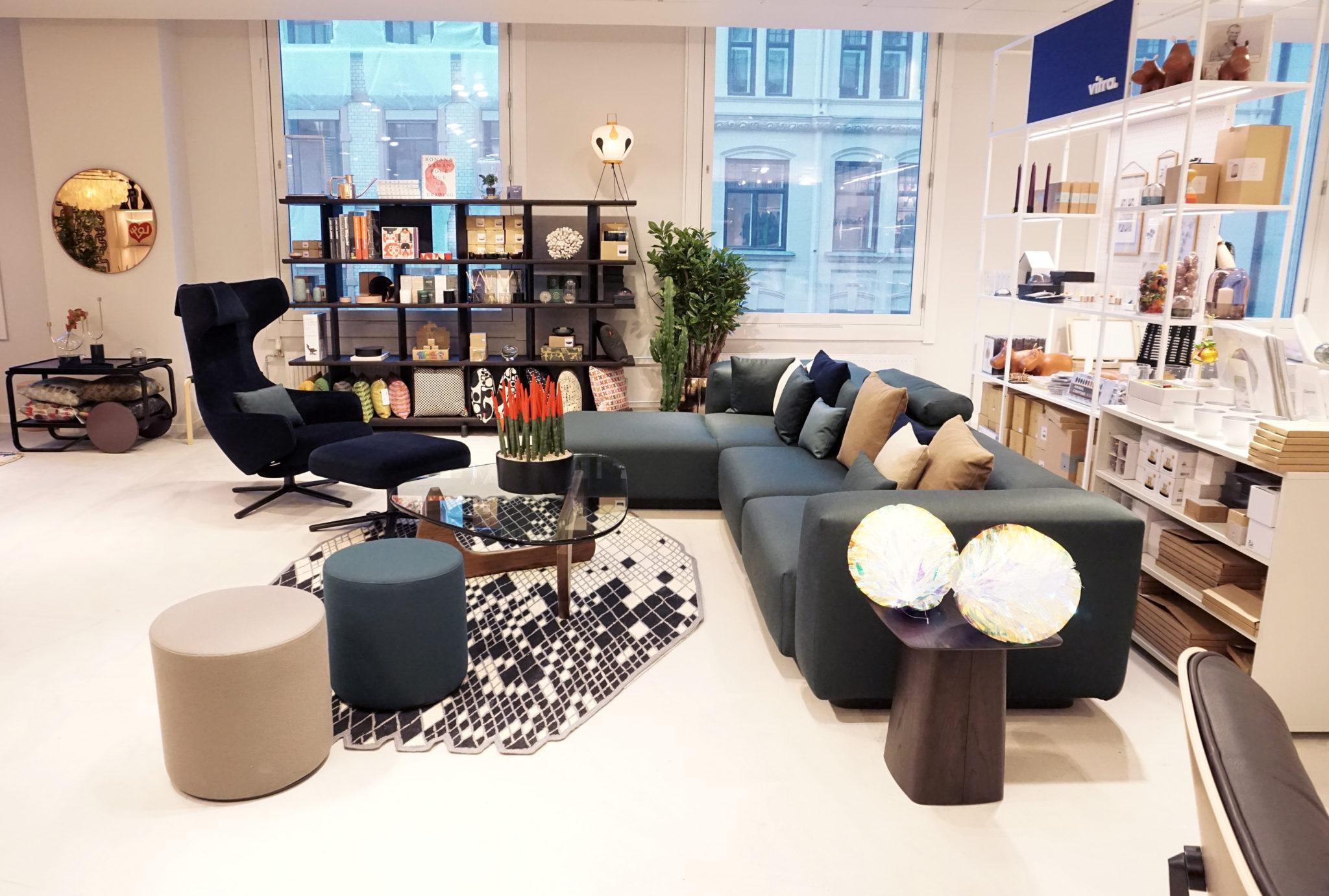 vitra pop up shop p steen str m kreativ i tet. Black Bedroom Furniture Sets. Home Design Ideas