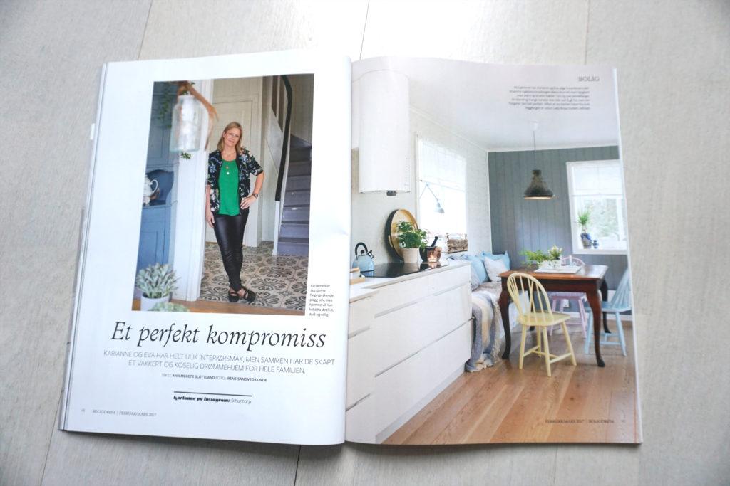 BoligDrøm nr 2/2017 boligreportasje @huntorp