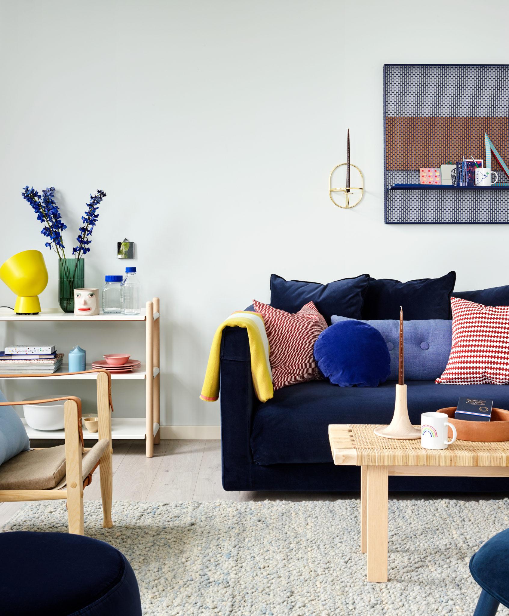 Fargerike Årets Farge 2018 Blå