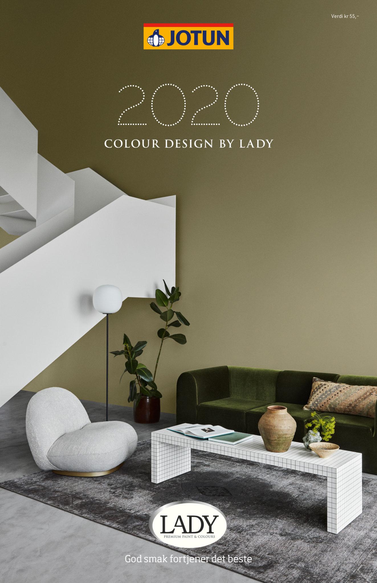Fargekart Jotun Lady 2020