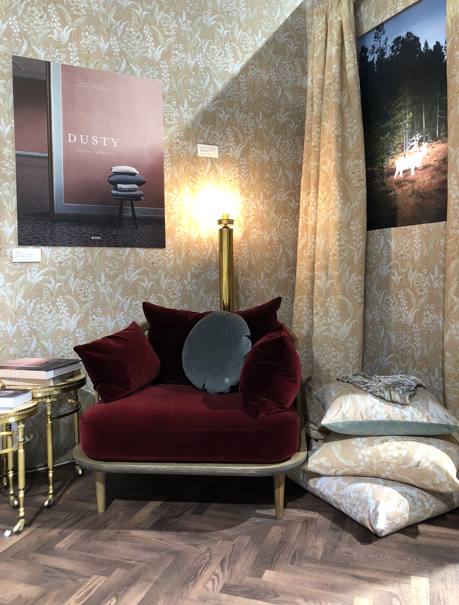 Oslo Design Fair trender 2018 dusty