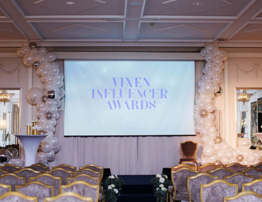 vixen influener awards 2017