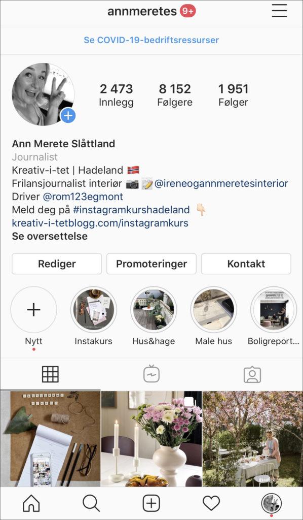 annmeretes instagramprofil