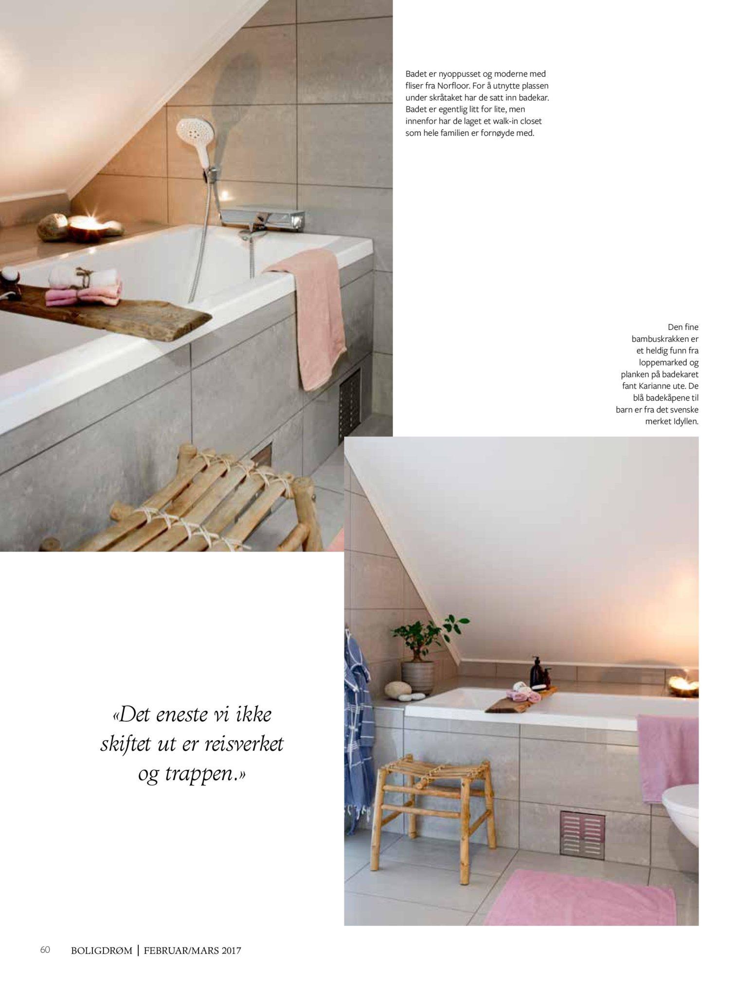 boligreportasje Karianne Gustavsen BoligDrøm nr. 2/2017 side 13