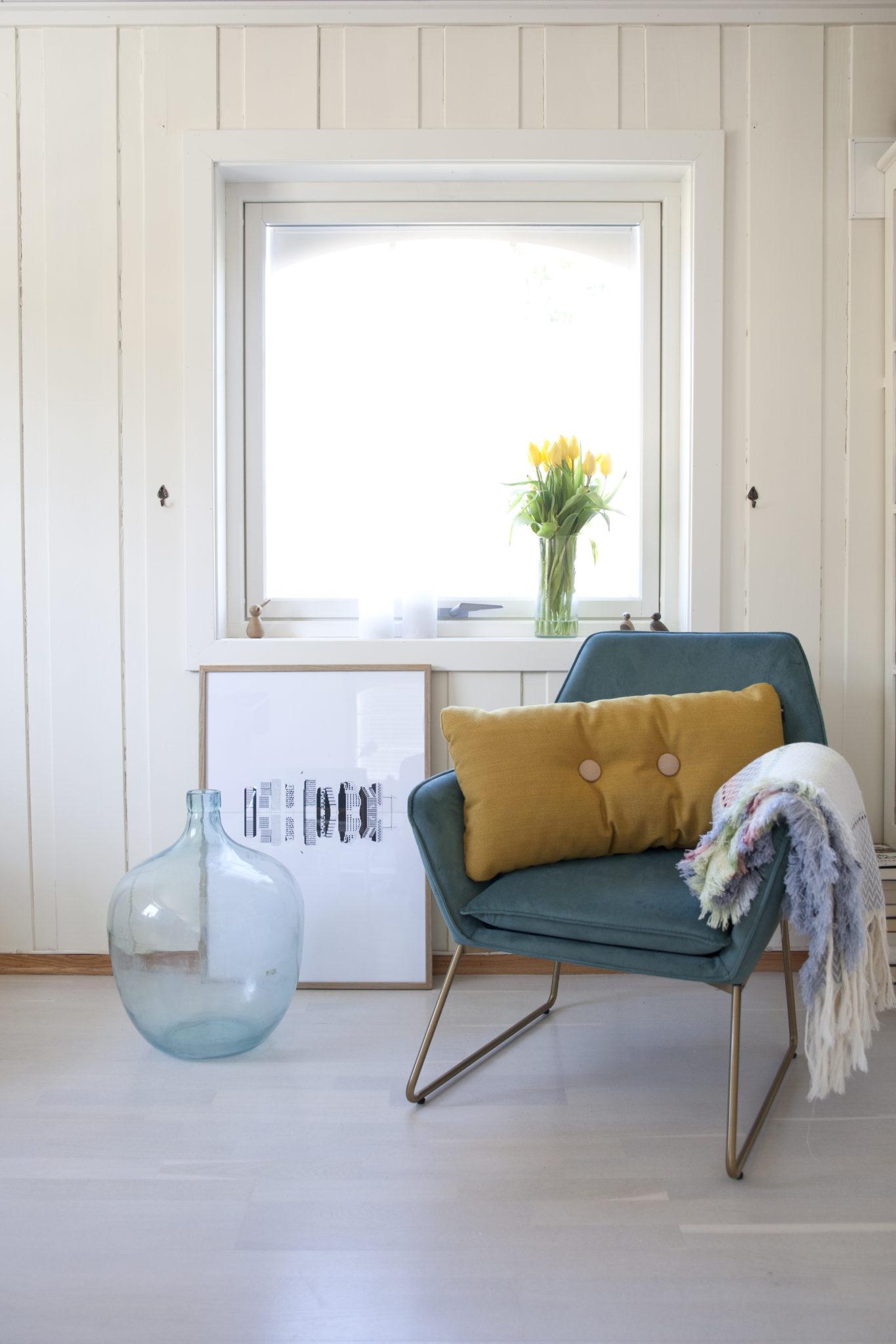 stue med lenestol fra jotex