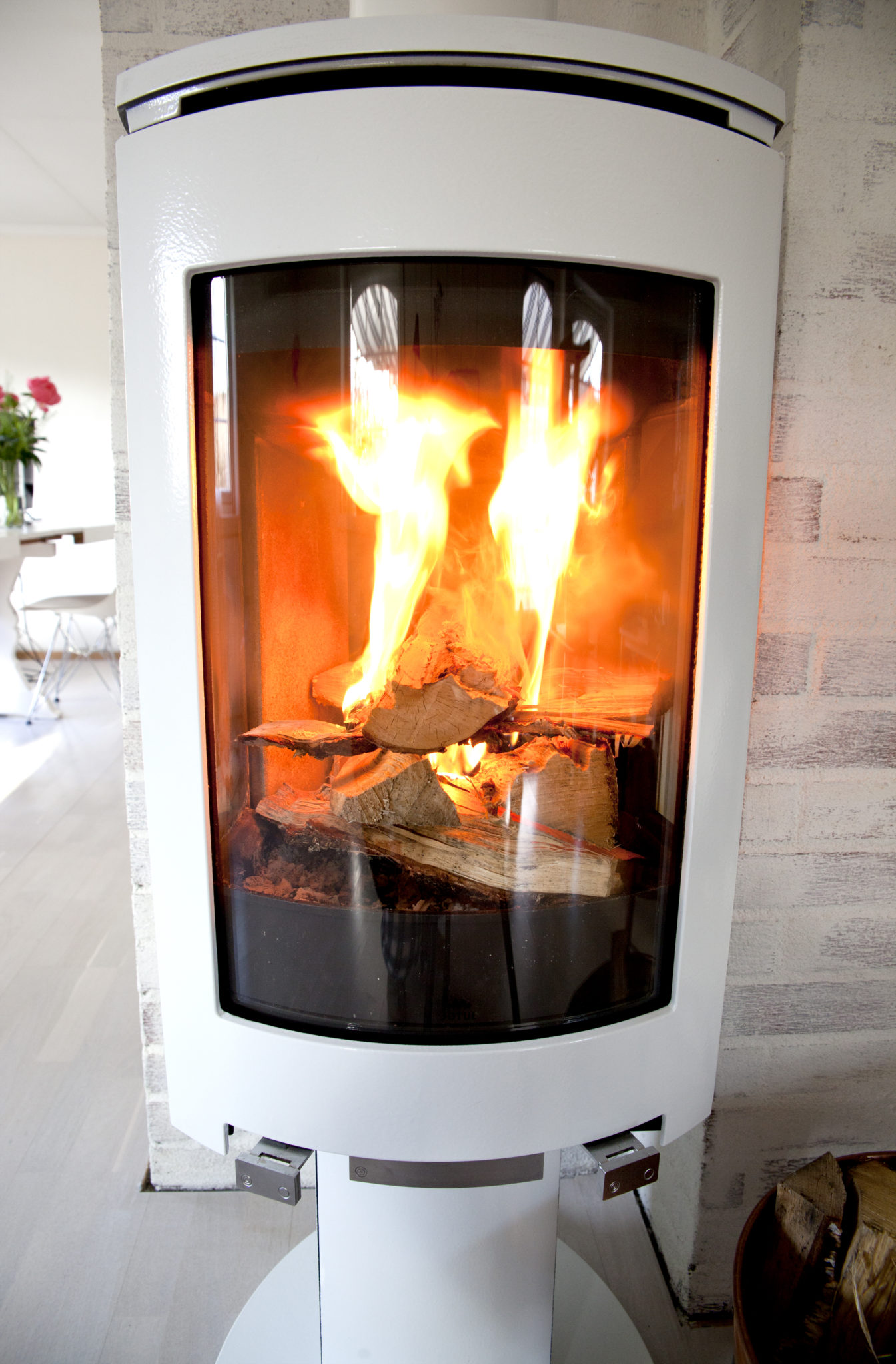 jøtul ovn f373 hvit