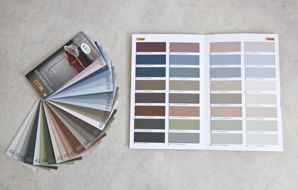 jotun lady fargekart 2018