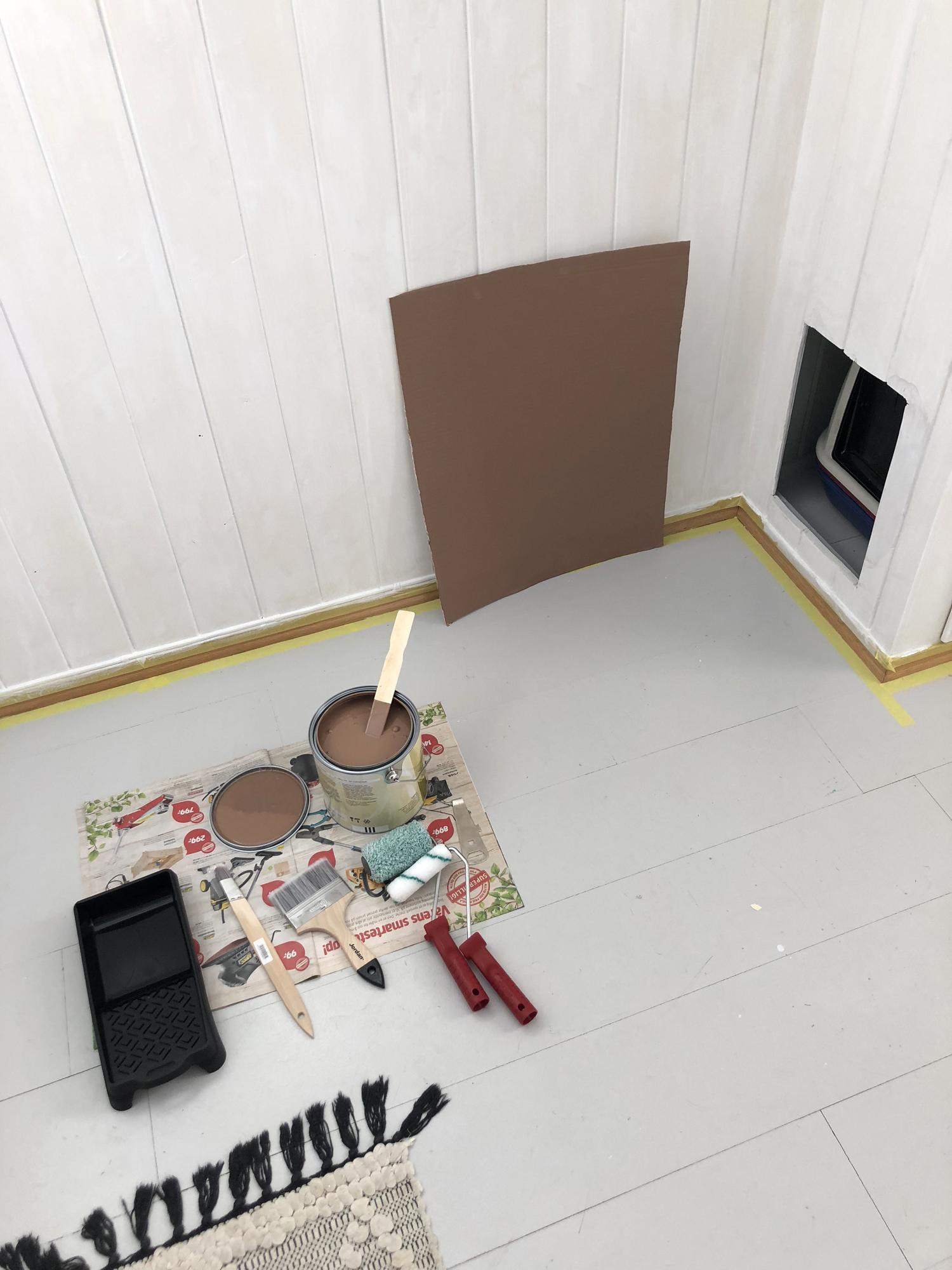 maling i gangen kreativitetblogg