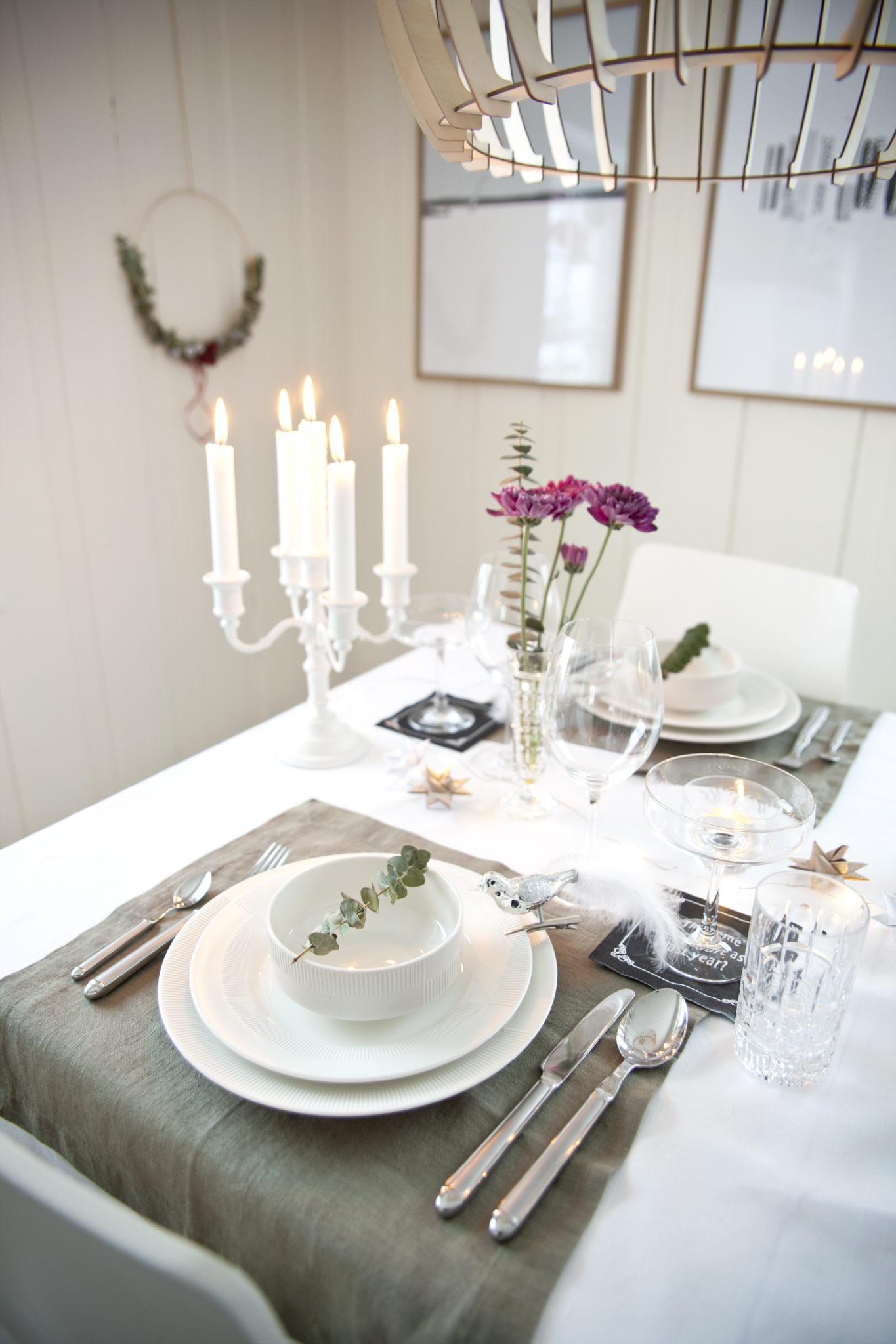 nyttårsbord_ borddekking rosendahl duet