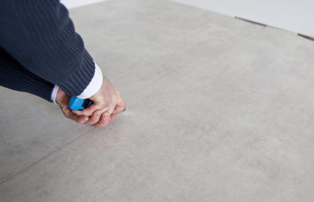 oppussing av kontor vinyl gulv tarkett