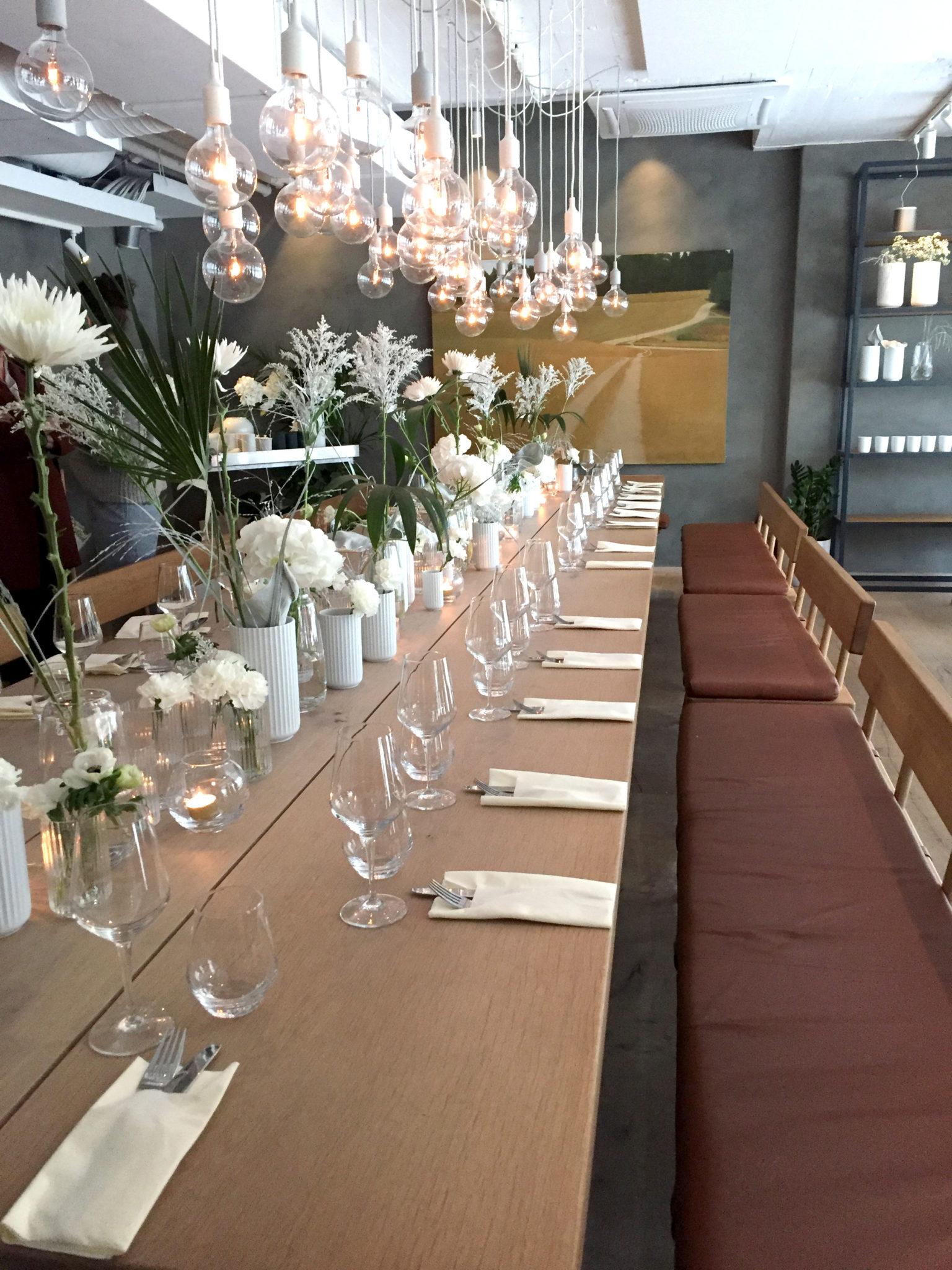 rosendahl middag ett bord