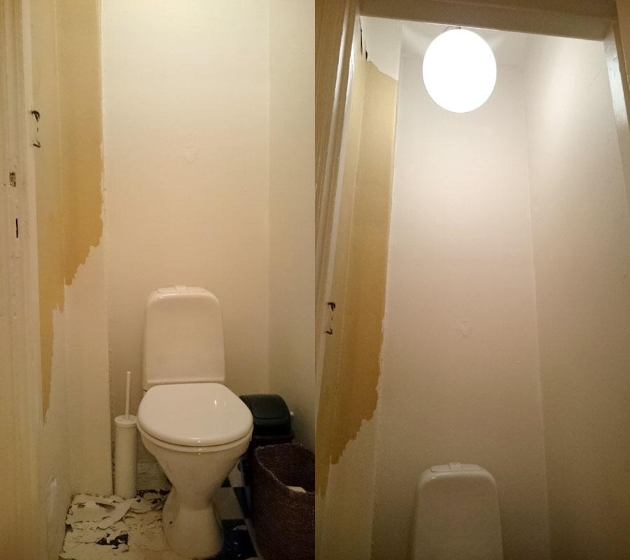 toalettrom oppussing før