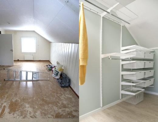 walk-in-closet før og etter